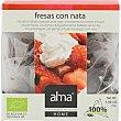 Infusión de fresas con nata ecológica biodegradables home Estuche 15 bolsitas Alma