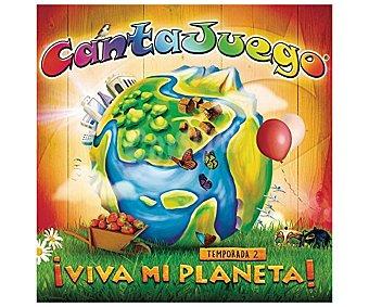 MÚSICA INFANTIL Cantajuego ¡Viva mi planeta! temporada 2, Grupo Encanto. Género: música infantil. Lanzamiento: Noviembre de 2016