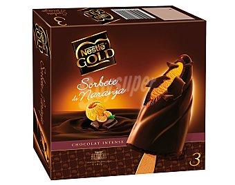 Nestlé Bombón Nestlé Gold Naranja Pack de 3