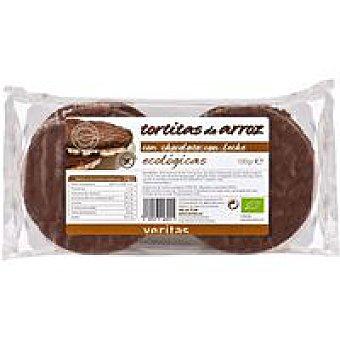 Veritas Tortitas de chocolate con leche Paquete 100 g