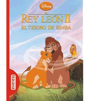 El Rey León II. EL tesoro DE simba. clásicos disney