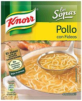 Knorr Sopa de ave con fideos Sobre 61 g