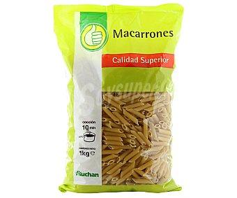 Productos Económicos Alcampo Pasta macarrón Paquete 1 kg