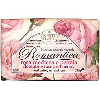 NESTI DANTE Pastilla de jabón Romántica medicea e peonia Pastilla 250 g
