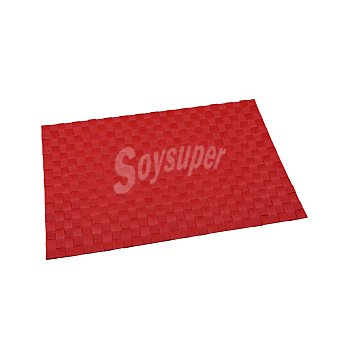 RENBERG Mantel Individual Cuadrado de Poliester 45x30cm - Rojo 1 ud
