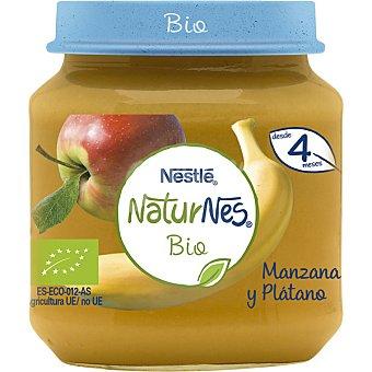 Naturnés Nestlé Tarrito de fruta (manzana y plátano), a partir de 4 meses BIO Tarro 120 g