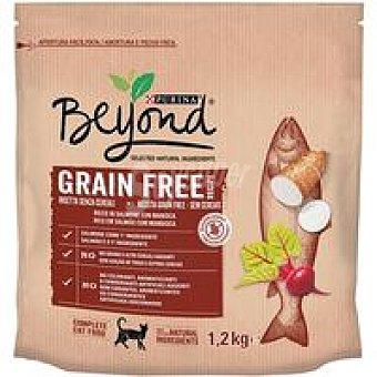 Beyond Purina Alimento de salmón para gato grain free Paquete 1,2 kg