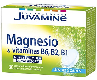 JUVAMINE FIZZ Magnesio + Vitamina B6 71 Gramos