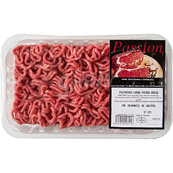 PASSION MEAT Carne picada añojo Burger Meat Bandeja 400 g