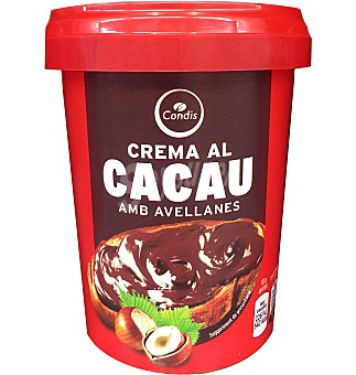 Condis Crema cacao 1 sabor 500 GRS