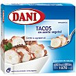 Tacos de calamar en aceite de girasol (estilo pulpo) Serie Azul Lata 75 g Dani
