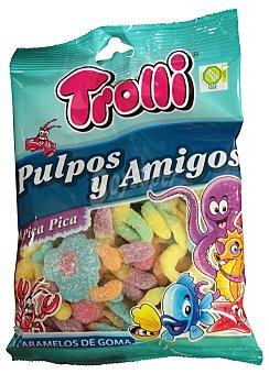 Trolli Gominolas pulpos pica pica y amigos Paquete 250 g