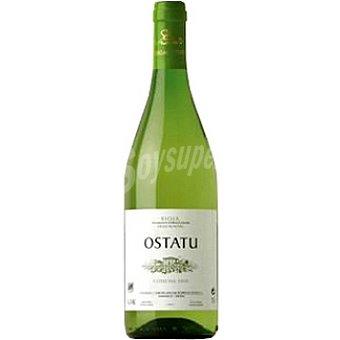 Ostatu Vino blanco Malvasia viura D.O. Rioja Botella 75 cl