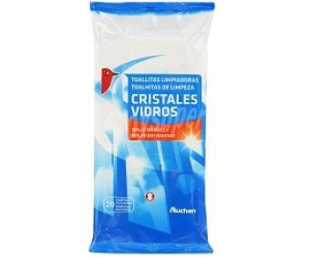 Auchan Toallitas Cristales 20 Unidades