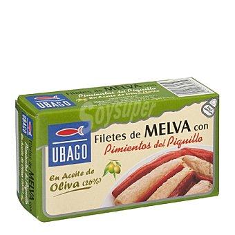 Ubago Tronco de melva en aceite de oliva con pimientos del piquillo 85 g