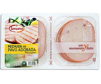 Serrano Pechuga de pavo en lonchas 330 gramos