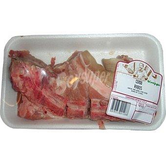 Rabo de cerdo peso aproximado Bandeja 450 g