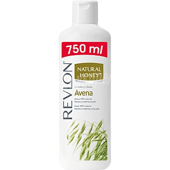 Natural Honey Gel de baño de avena bote 750 ml hidrata y reafirma la piel Bote 750 ml