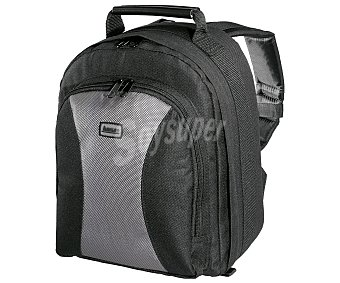 Hama Estuche para cámaras grande trackpack II 140 con compartimientos para accesorios, negro con compartimientos para accesorios, negro