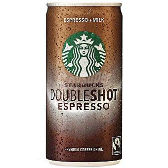Starbucks Café espresso con leche Doubleshot espresso Lata 200 g