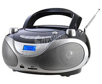 Qilive Radio CD Q1077 con sintonizador de radio am/fm y conector USB con sintonizador de radio am/fm y conector USB