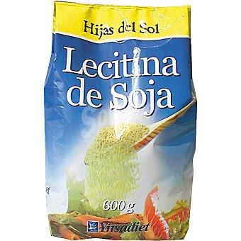 HIJAS DEL SOL Lecitina de soja en polvo Bolsa 600 g