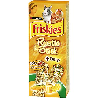 Purina Friskies Barritas con miel para roedores estuche 50 g 2 unidades