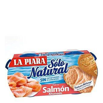 La Piara Pate de salmón ahumado Sólo Natural 168 g