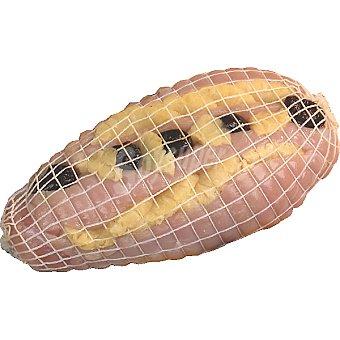 BANDEJA 1 Pechuga pavo agridulce relleno de piña y ciruelas pasas peso aproximado 2 kg