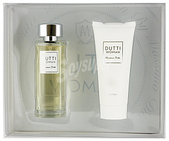 MASSIMO DUTTI Woman Estuche Colonia Mujer: Colonia 100ml+ Body Milk 100ml 1u