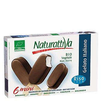 Naturattiva Mini bombón helado ecológico Naturattiva Pack de 6 unidades de 35 g