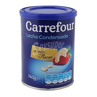 Carrefour Leche condensada 740 g