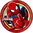Plato decorado redondo 23 cm paquete 8 unidades Paquete 8 unidades Spiderman Marvel