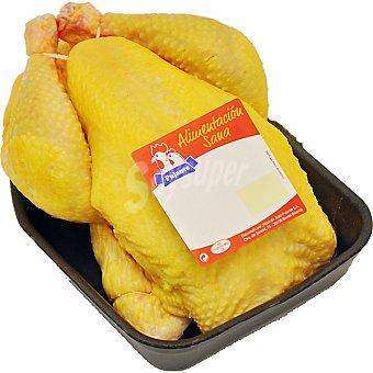 PUJANTE Pollo campero entero limpio para asar peso aproximado bandeja 2,5 kg Bandeja 2,5 kg
