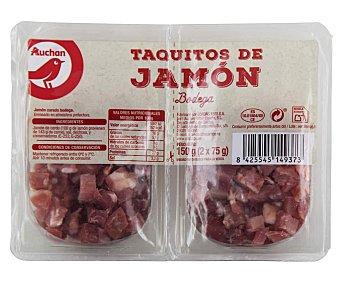 PRODUCTO ALCAMPO Taquitos de jamón curado en bodega 2 x 75 g