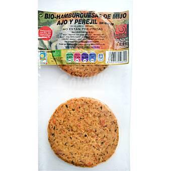 INTEGRAL ARTESANS Hamburguesas ecológicas de mijo ajo y perejil Paquete 180 g