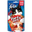 Mixed Grill snacks para gato con sabor a buey, pollo y salmón Envase 60 g Purina Felix