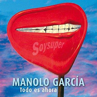 """Manolo García """"todo es ahora"""" CD 1 ud"""