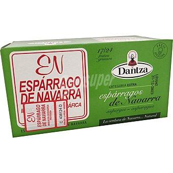 Dantza Espárragos blancos D.O. Navarra gruesos 17-24 piezas Lata 425 g neto escurrido