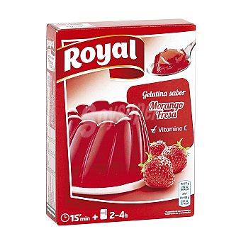 Royal Gelatina de fresa Caja 170 g (10 raciones)