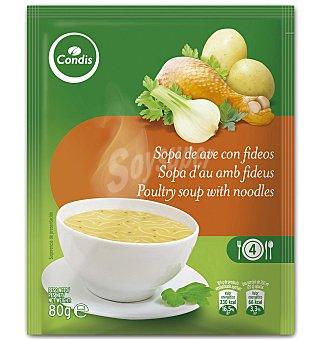 Condis Sopa de ave con fideos 80 G