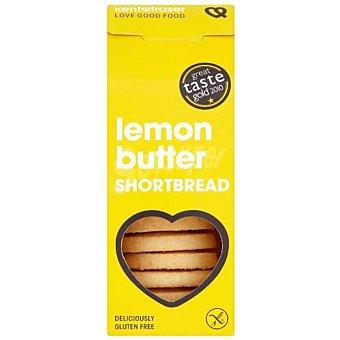 Kentfraser Galletas de mantequilla con limón sin gluten Caja 125 g