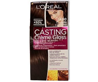 Casting Crème Gloss L'Oréal Paris Tinte Créme Gloss nº 400 Castaño 1 ud
