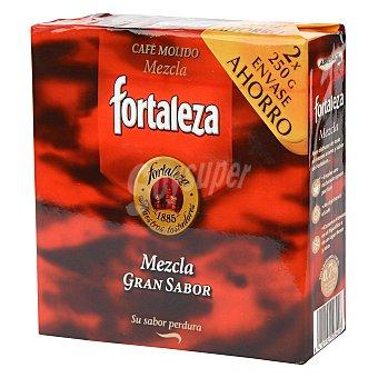 Fortaleza Café molido mezcla Pack de 2x250 g