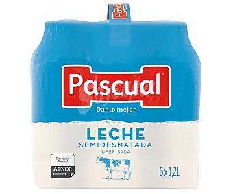 Pascual Leche semidesnatada Pack 6 x 1.2 l