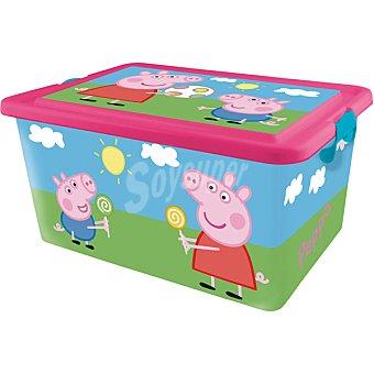 STOR Caja de ordenación con dibujo de Peppa Pig  1 unidad