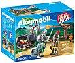 Conjunto de juego Batalla del tesoro con 39 piezas y 2 figuras incluidas, 70036 Starter Pack playmobil 70036 Batalla del tesoro  Playmobil