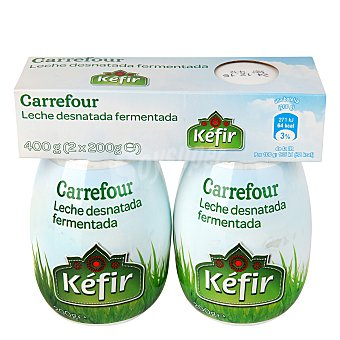 Carrefour Yogur Kéfir Pack 2x200 g