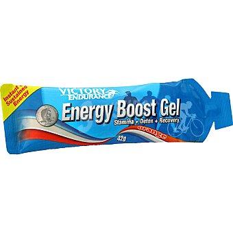 VICTORY ENDURANCE Energy Boost suplemento deportivo en gel energético sabor naranja  envase 42 g