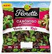 Ensalada DUO canonigo&ramillete verde+rojo 100 g Florette